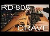 Behringer Crave & RD-808 Beat Tracking snippet