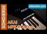 [NAMM 2019] AKAI MPK ROAD 88