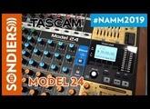 [NAMM 2019] TASCAM MODEL 24