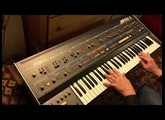 Roland Jupiter 6 - Pure Analog Goodness - No FX or Processing