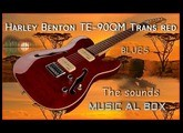 Harley Benton  TE-90 QM Trans Red  The sounds