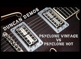 Filter' Tron style pickups Psyclone Vintage vs Hot | Duncan Demo