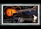 son ES 150 GIBSON Blues for Alice Impro JAZZ Variax 300 line 6 Jean-luc LACHENAUD