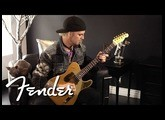NEW John 5 Squier Tele in Frost Gold | Fender