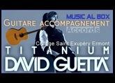 Titanium Guitare Accompagnement en Ré . #faistonshowaucollège