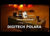 Pedals4Synths - Digitech Polara reverberation on a Moog Grandmother Synthesizer.