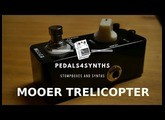 Pedals4Synths -   Mooer Trelicopter on Moog's Grandmother's VCO