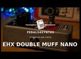 Pedals4Synths  - EHX Double Muff Nano   on a Studio Electronics/Roland Se 02