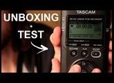 UNBOXING + TEST de mon nouveau MATÉRIEL SON : TASCAM DR-40