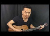 NEW 2016 - Martin Dreadnought Junior 2 - Sapele Top Guitar Review in Singapore