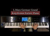 Korg Kronos -  L.Mays German Grand (Factory Piano)