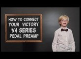 How To Connect Your Victory V4 Series Pedal Preamp (By An 8 Year Old)