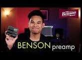 The Benson Preamp Pedal
