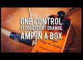 One Control: Fluorescent Orange Amp In A Box