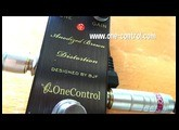 One Control: ANODIZED BROWN DISTORTION