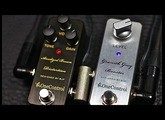 One Control - Anodized Brown Distortion + Granith Grey Booster
