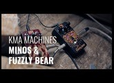 KMA Audio Machines Fuzzly Bear & Minos fuzz pedal demo