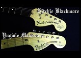 Blackmore Strat VS Malmsteen Strat