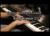 Korg Kronos - Stereo Concert Piano (Factory Program)