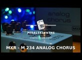 Pedals4Synths - MXR M-234 Analog Chorus and Studio Electronics & Roland SE 02