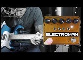 SolidGoldFX Electroman MKII delay pedal - demo by RJ Ronquillo