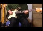 John Mayer black one stratocaster replica john benson pickups peavey classic 30