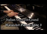 Pianos Suite 3 - WavesArt Korg Kronos Itallian Grand