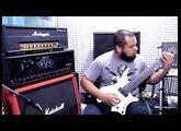 Strandberg Boden Metal 8   Fortin Meshuggah   Michel Oliveira