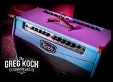 "Greg Koch 2017 Clinic with ""The Greg"" signature amp at the Koch headquarters."