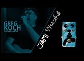 JAM pedals | WaterFall video demonstration by Greg Koch