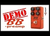 Xotic Effects BB Preamp - Demo by Simon Gotthelf & Pedaler.EU