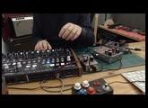 Arturia Drumbrute + guitar effects
