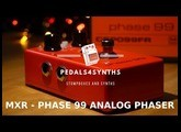 Pedals4Synths - MXR Phase 99 w/Studio Electronics & Roland SE- 02 : Analog phaser and synth