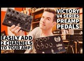 VICTORY V4 TUBE PREAMP PEDALS - KRAKEN & COUNTESS