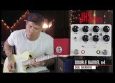 JHS Double Barrel V4 - overdrive/distortion pedal demo by RJ Ronquillo
