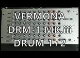 Vermona DRM1 Pt. 03 - Drum 1 + 2