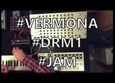 Vermona DRM1 Mk.iii Jam 01 (w/ Beatstep Pro, Doepfer Dark Energy, Novation Bass Station)
