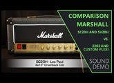 Comparison Marshall Studio -  20W vs. Original 100W - Sound Demo (no talking)
