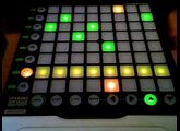 Launchpad Linear Sequencer with Mulitple Patterns and MIDI CC