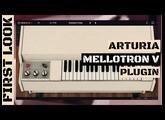 Arturia MELLOTRON V First Look & Sound Demo