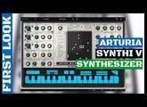 Arturia SYNTHI V Synthesizer (EMS Synthi AKS Emulation) First Look & Sound Demo