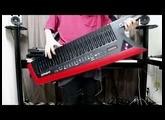 Edge BladeをAX-Edge(ショルダーキーボード)で演奏!