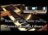 WavesArt Brass & Vocal Suite Kronos EXs Library (Part 1)