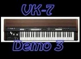 Roland VK-7 Demo songs