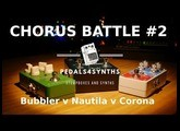 Pedals4Synths - Chorus Battle #2 : TC Electronic Corona v Digitech Nautila v Fender Bubbler w/SE-02