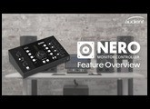 NEW Audient Nero - Desktop Monitor Controller Feature Overview
