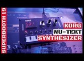 KORG Nu:Tekt Digital Synthesizer First Look & Interview Etienne | Superbooth 2019 | SYNTH ANATOMY