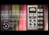 Pure Plate Reverb : 5-Minute UAD Tips