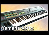 Yamaha AN1x - Ambient drone space music 【Synth Demo】