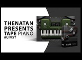 Introducing Tape Piano VST Plugin By Thenatan ( Demonstration )